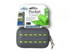SEA TO SUMMIT Pocket Towel (lime) - S