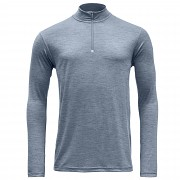 DEVOLD Breeze man Half zip neck Glacier melange