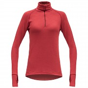 DEVOLD Expedition Women zip neck Chilli