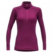 DEVOLD Duo Active Women Zip neck Plum