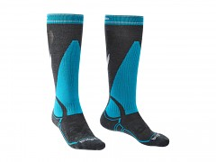 Ski Midweight::::black/green/843::S::ponožky