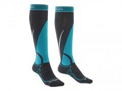 Ski Midweight Women's::::silver/purple/005::M::ponožky