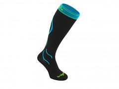 Compression Ski::::black/blue/007::S::ponožky