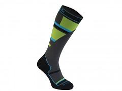 Mountain Junior::::grey/green/068::L::ponožky