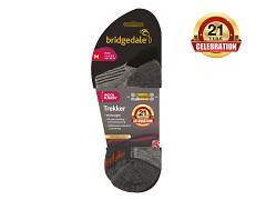 Bridgedale Trekker 21st Year Twinpack    black/grey/816  XL