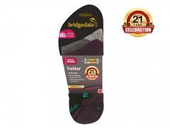 Trekker 21st Year Twinpack Women's::::silver/black/852::S::ponožky