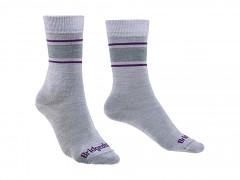 Everyday UL ME Boot Women's::::light grey/purple/065::S::ponožky