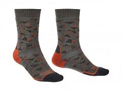 Hike MW MP Boot::::brown/orange/117::M::ponožky