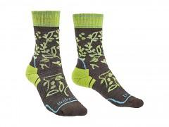 Hike MW MP Boot Women's::::brown/lime/120::S::ponožky