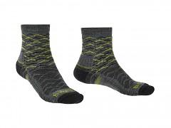 Hike LW MP Ankle::::grey/lime/118::M::ponožky