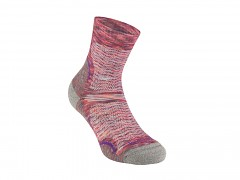 Hike UL T2 MP Crew Women's::::multi pink/130::S::ponožky