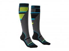 Ski Mountain Junior::::grey/green/068::M::ponožky