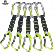 CLIMBING TECHNOLOGY 5x LIME SET NY PRO 12cm Green