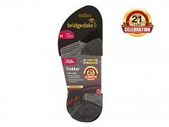 Bridgedale Trekker 21st Year Twinpack    black/grey/816  S