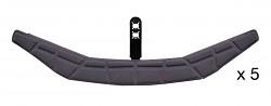 Hlavový pásek s pohodlnou pěnou pro přilby VERTEX  a STRATO
