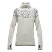 DEVOLD Ona Woman Round sweater offwhite XS