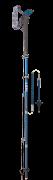 LEKI hole Micro Vario Carbon, darkbluemetallic-blue-white-neonred