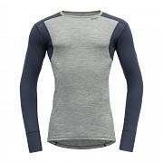 DEVOLD Hiking man Shirt Gray melange/night vel. M