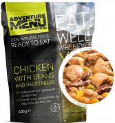 Adventure menu Kuřecí po zahradnicku s fazolemi