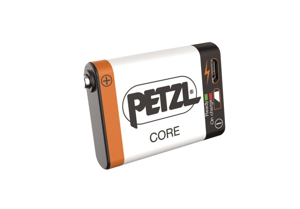 PETZL CORE acumulator - Hmotnost: 23g, Zdroj: Lithium-Ion, Kapacita: 1 250mAh, Certifikace: CE